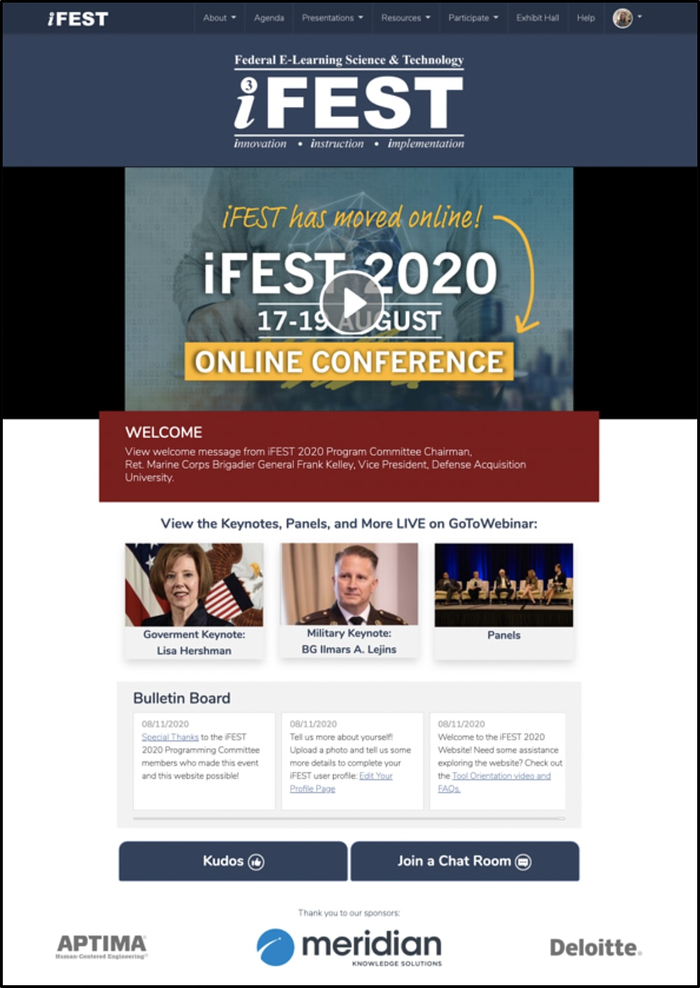 Home Page of www.iFEST2020.com