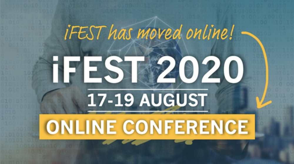 iFEST Online Conference graphic